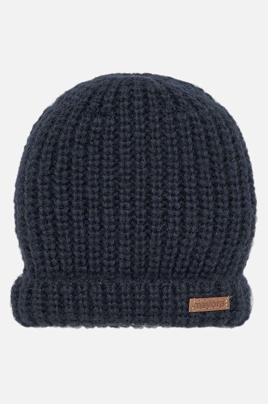 тъмносин Mayoral - Детска шапка 48-50 Момче