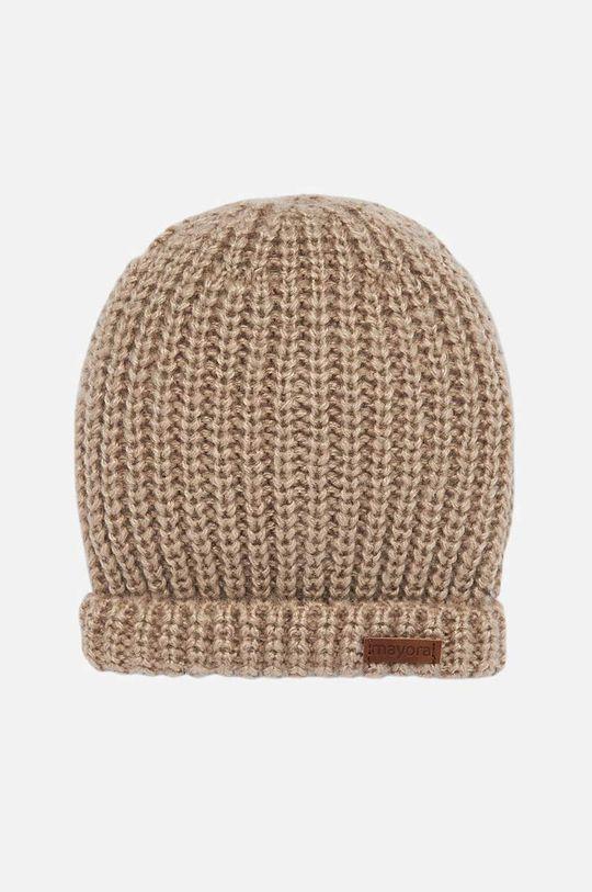 бежов Mayoral - Детска шапка 48-50 Момче