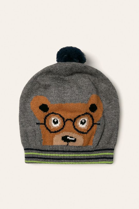 сив Mayoral - Детска шапка 48-50 Момче