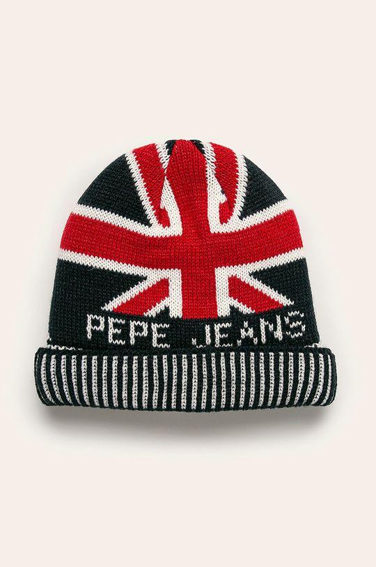 viacfarebná Pepe Jeans - Detská čiapka Iker Chlapčenský