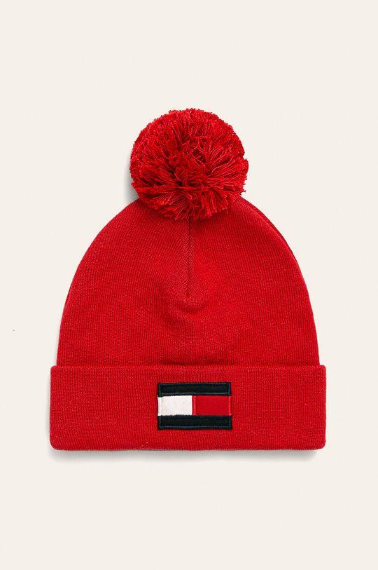 červená Tommy Hilfiger - Detská čiapka Chlapčenský