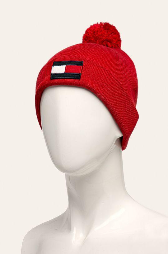 Tommy Hilfiger - Detská čiapka červená