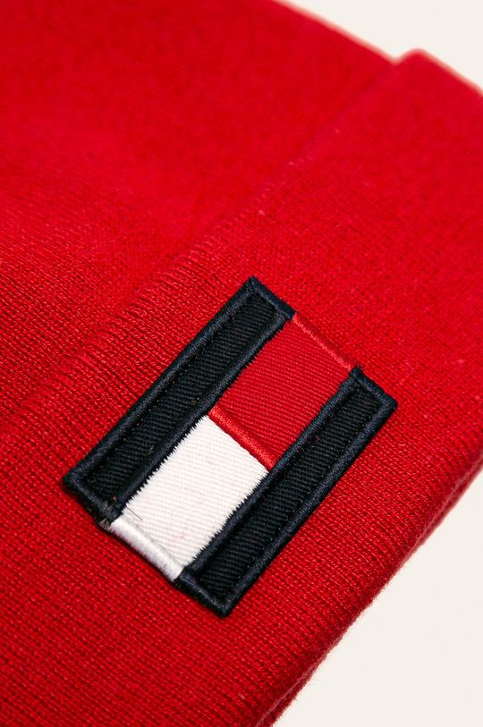 Tommy Hilfiger - Detská čiapka  50% Akryl, 50% Bavlna