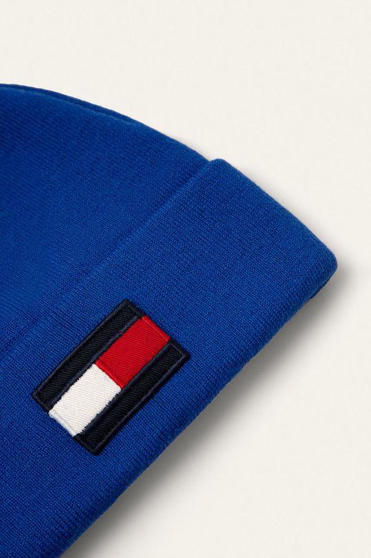 Tommy Hilfiger - Detská čiapka modrá