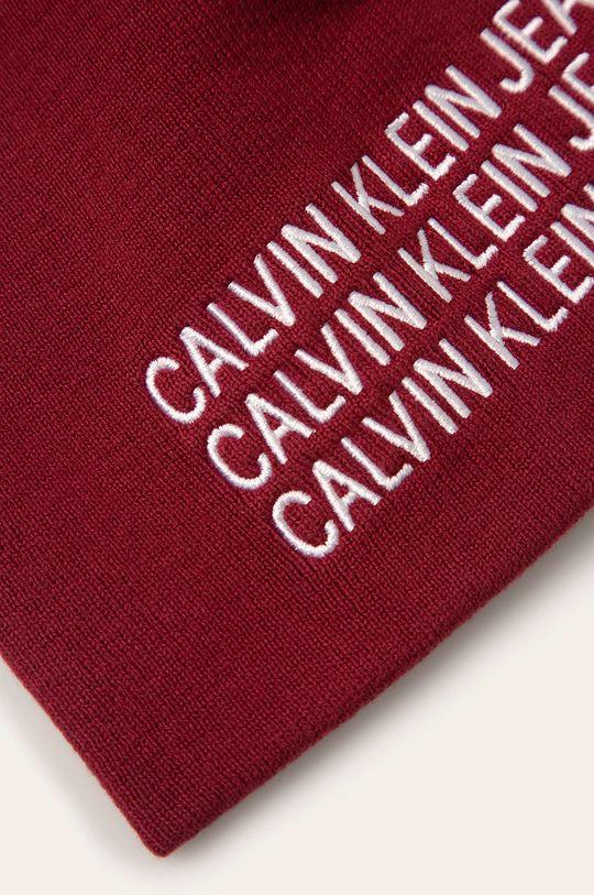 Calvin Klein Jeans - Čiapka gaštanová