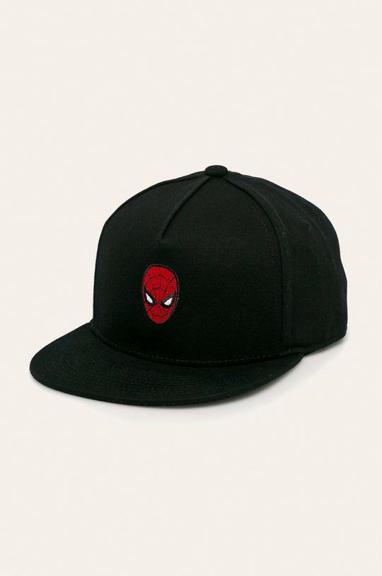 čierna Vans - Detská čiapka x Marvel Chlapčenský