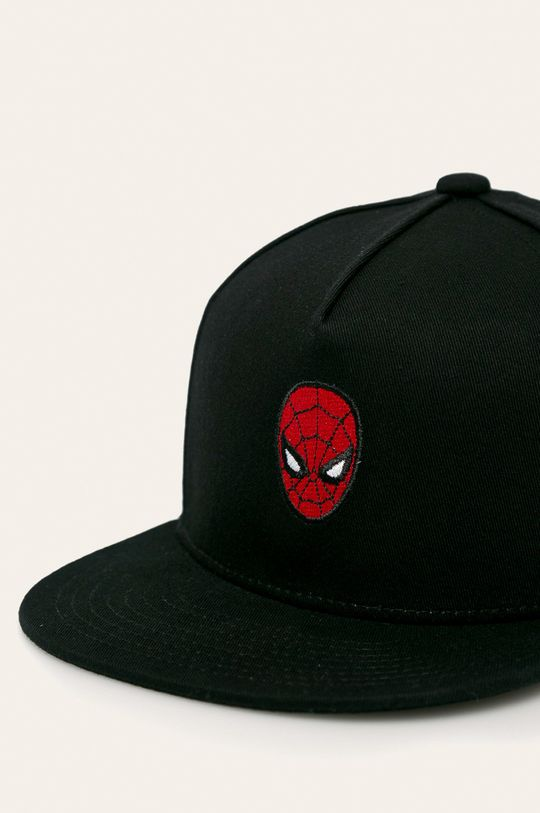 Vans - Detská čiapka x Marvel čierna