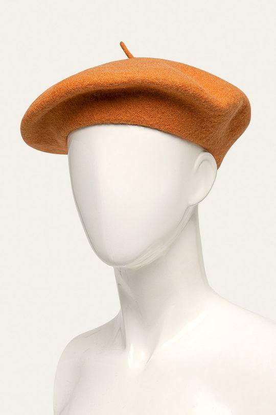 oranžová Only - Baret Dámský