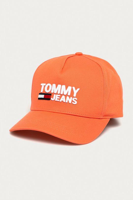 ružová Tommy Jeans - Čiapka Dámsky