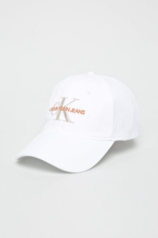 bílá Calvin Klein Jeans - Čepice Dámský