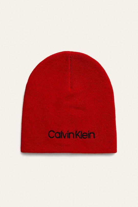 červená Calvin Klein Jeans - Čiapka Dámsky