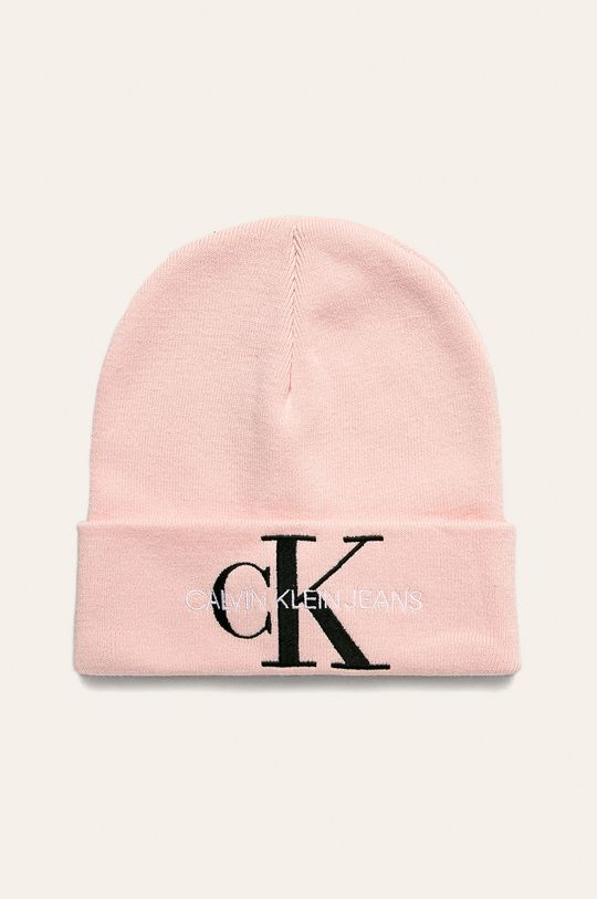 starorůžová Calvin Klein Jeans - Čepice Dámský