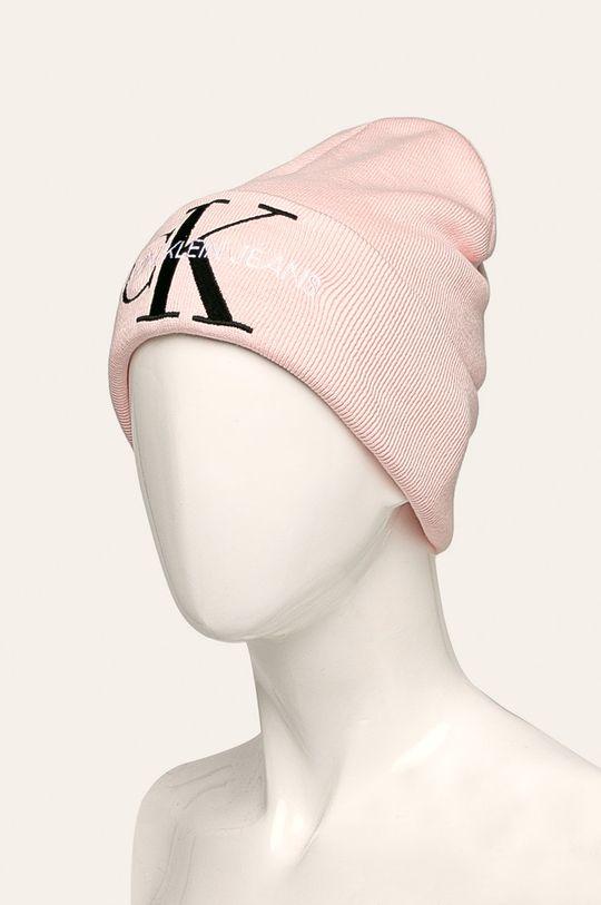 Calvin Klein Jeans - Čepice starorůžová