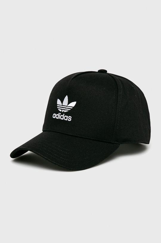 czarny adidas Originals - Czapka Damski