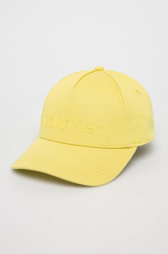 žlutá Calvin Klein - Čepice Dámský