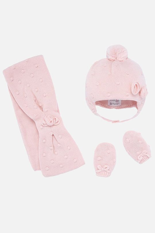 розов Mayoral - Комплект за бебета 62-86 cm Момиче