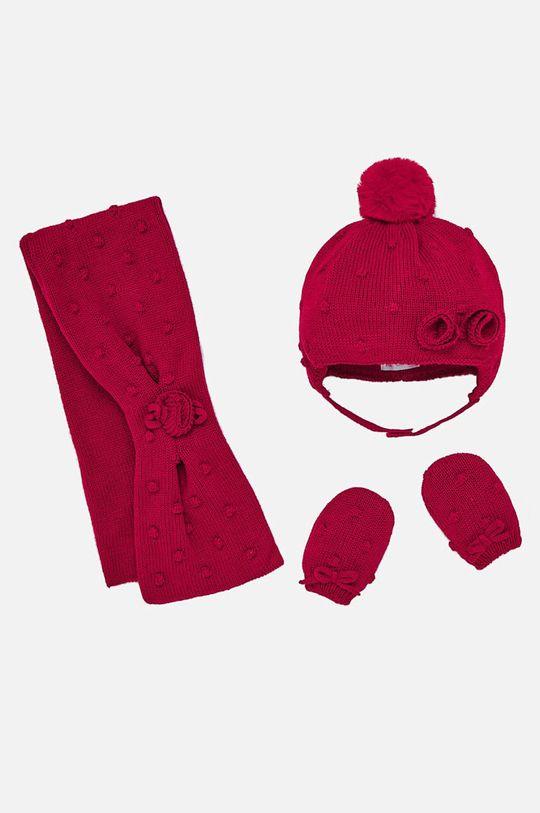 червен Mayoral - Комплект за бебета 62-86 cm Момиче