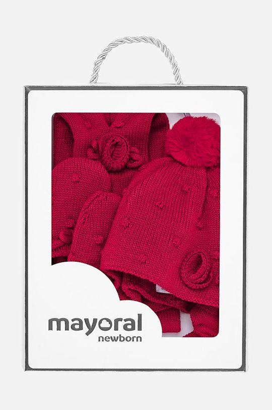 Mayoral - Комплект за бебета 62-86 cm червен
