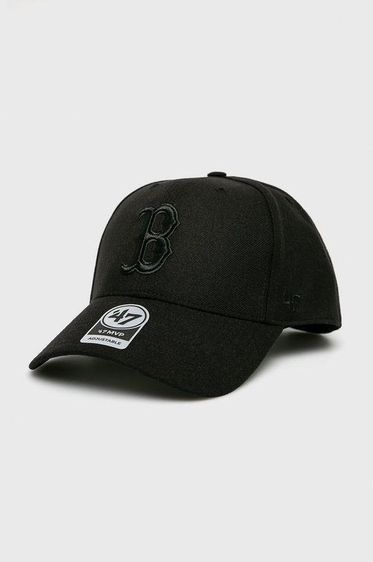 čierna 47brand - Čiapka Pánsky