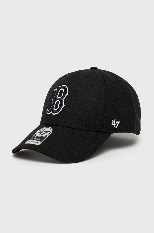 czarny 47brand - Czapka Męski