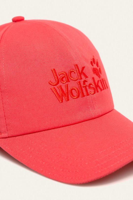 Jack Wolfskin - Czapka czerwony