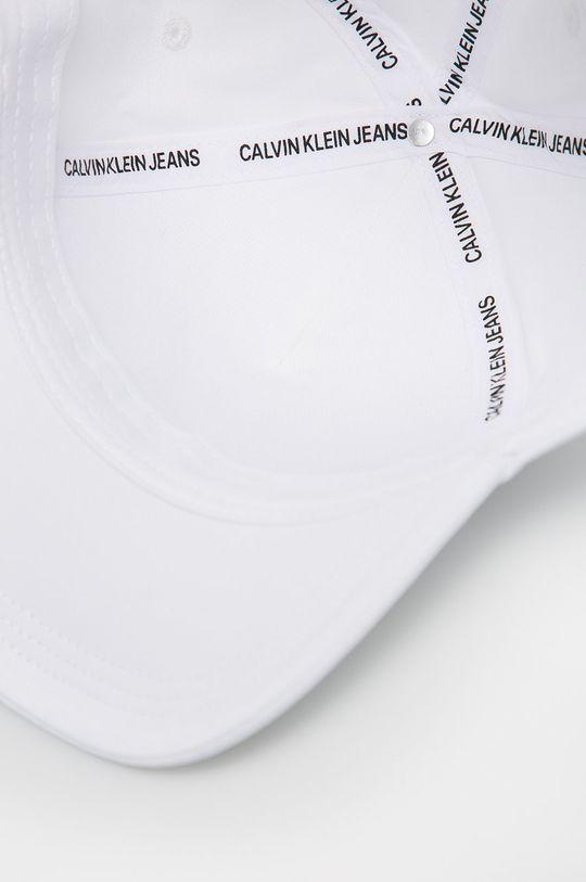 bílá Calvin Klein Jeans - Čepice