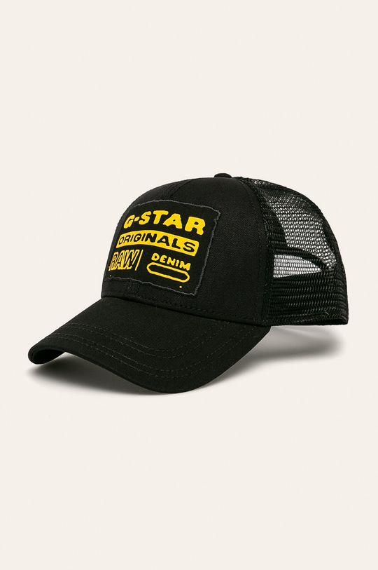 čierna G-Star Raw - Čiapka Pánsky