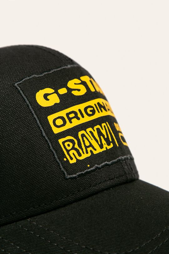 G-Star Raw - Čiapka  Podšívka: 100% Bavlna Základná látka: 100% Polyester Iné látky: 100% Bavlna