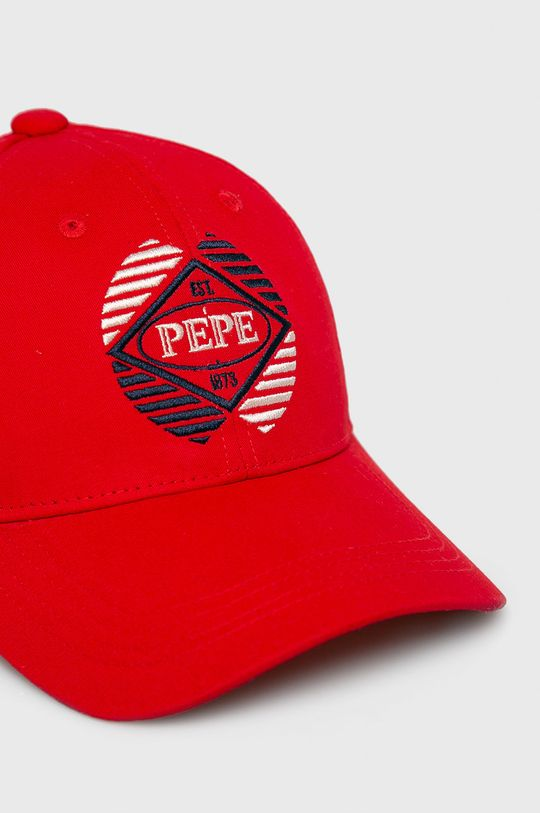 Pepe Jeans - Čepice červená