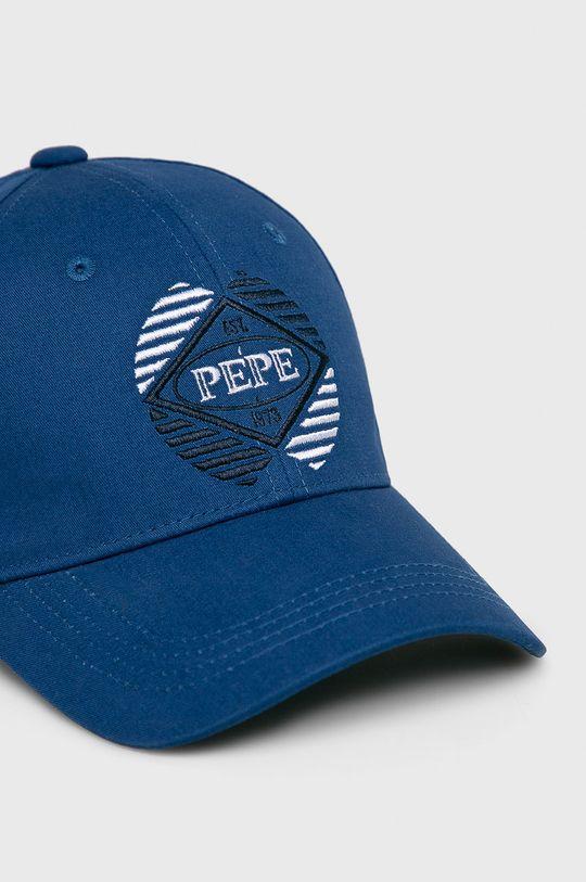 Pepe Jeans - Čepice modrá