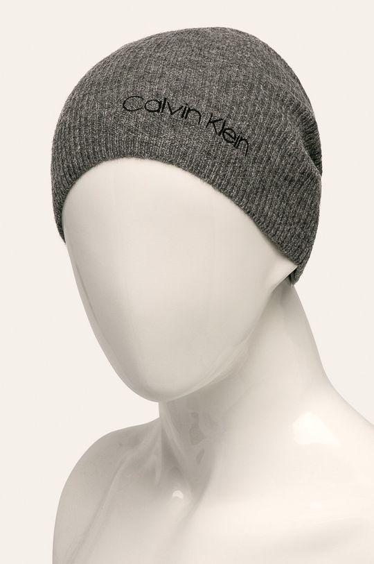 Calvin Klein - Čepice šedá