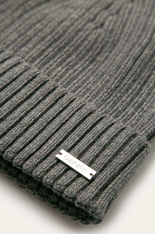 Calvin Klein - Čiapka sivá