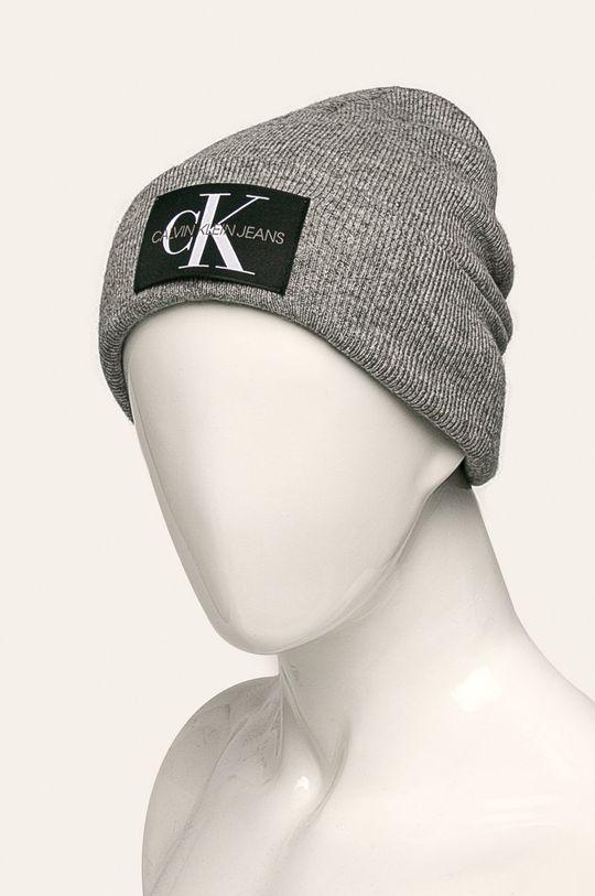 Calvin Klein Jeans - Čepice šedá
