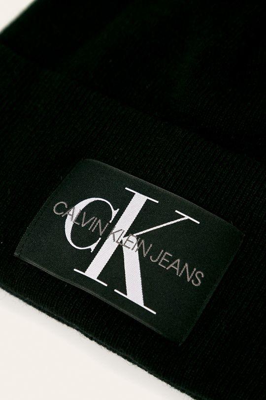 Calvin Klein Jeans - Čepice  10% Kašmír, 20% Polyamid, 40% Vlna, 30% Viskóza