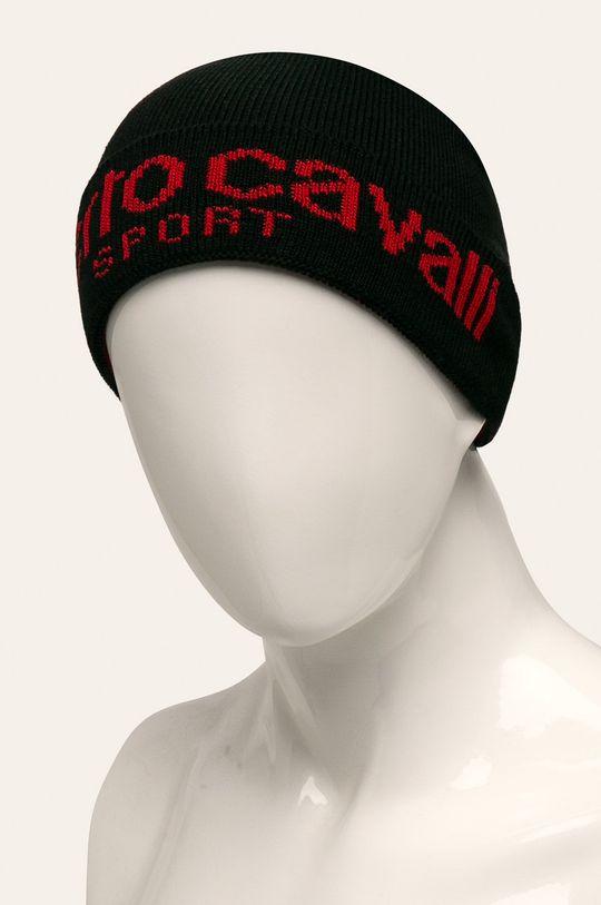 Roberto Cavalli Sport - Caciula negru