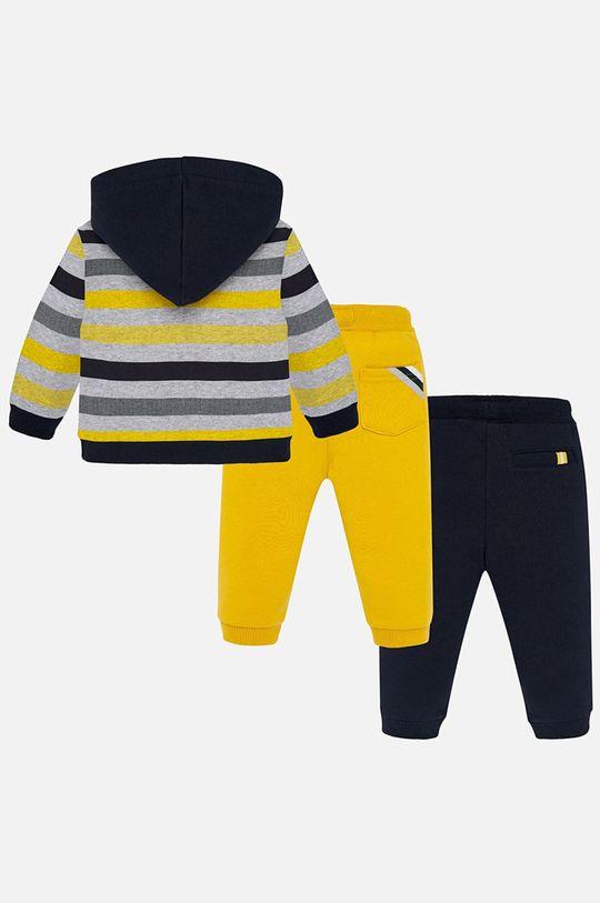 Mayoral - Detská tepláková súprava 74-98 cm žltá