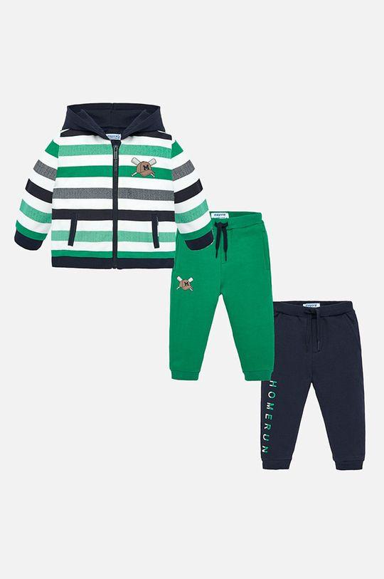 zelená Mayoral - Detská tepláková súprava 74-98 cm Chlapčenský