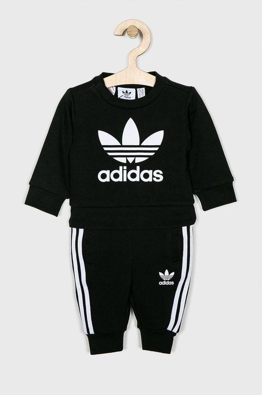 czarny adidas Originals - Komplet dziecięcy 62-104 cm Chłopięcy