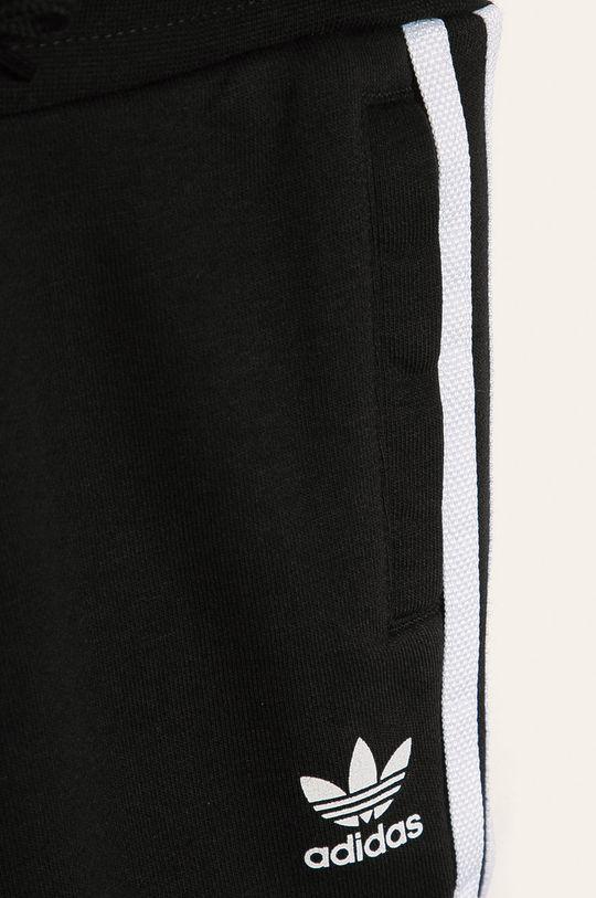 čierna adidas Originals - Detská tepláková súprava 104-128 cm