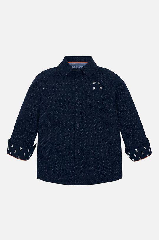 tmavomodrá Mayoral - Detská košeľa 92-134 cm Chlapčenský