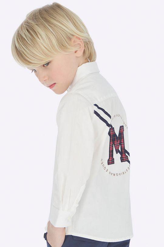 biela Mayoral - Detská košeľa 92-134 cm Chlapčenský