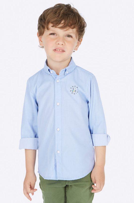 svetlomodrá Mayoral - Detská košeľa 92-134 cm Chlapčenský