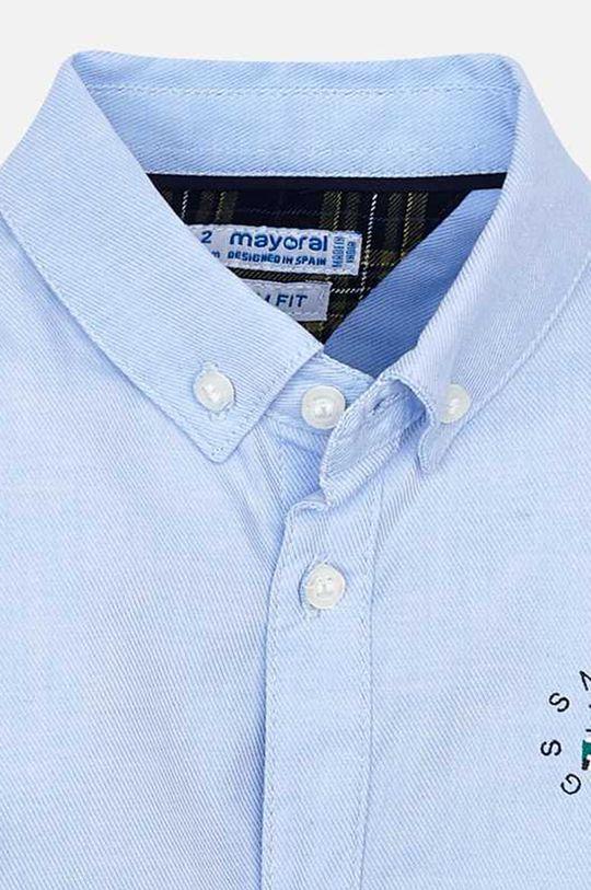 svetlomodrá Mayoral - Detská košeľa 92-134 cm
