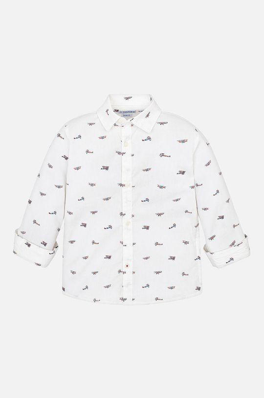 Mayoral - Detská košeľa 92 - 134 cm biela