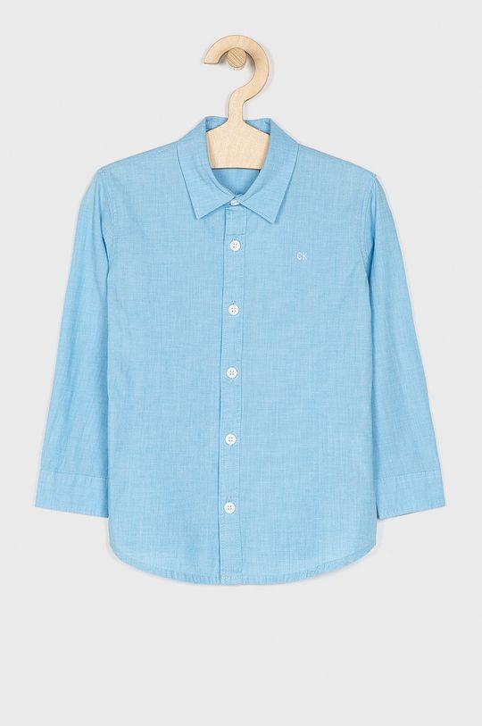modrá Calvin Klein Jeans - Dětská košile Chlapecký