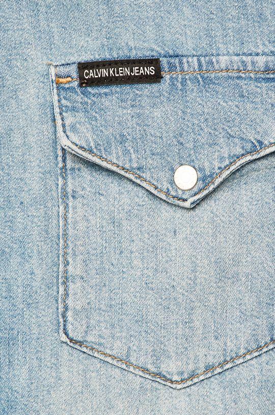 Calvin Klein Jeans - Košeľa modrá