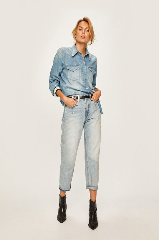 Calvin Klein Jeans - Košeľa  100% Bavlna