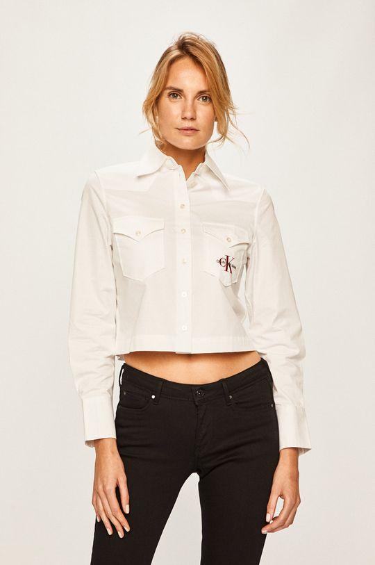 bílá Calvin Klein Jeans - Košile Dámský