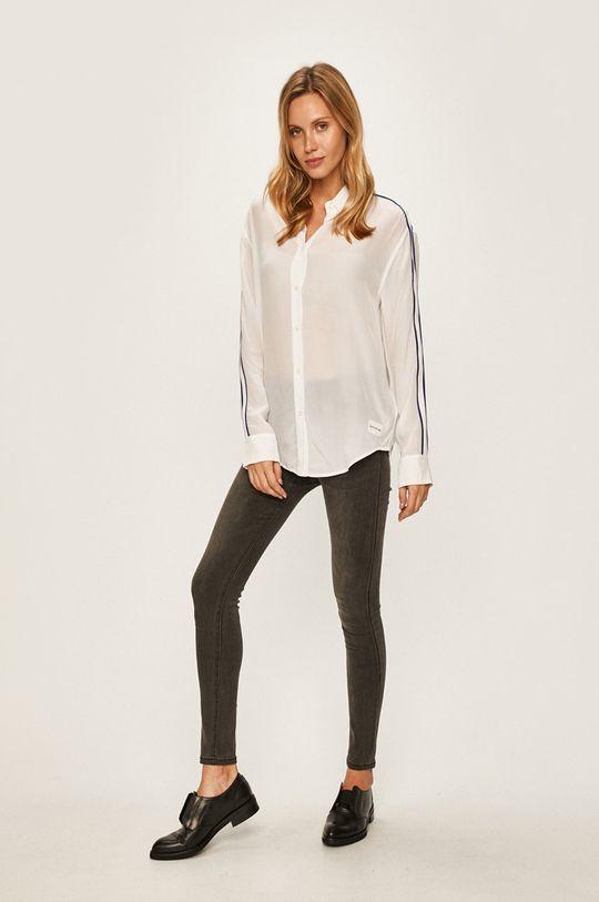 Calvin Klein Jeans - Camasa Materialul de baza: 100% Viscoza