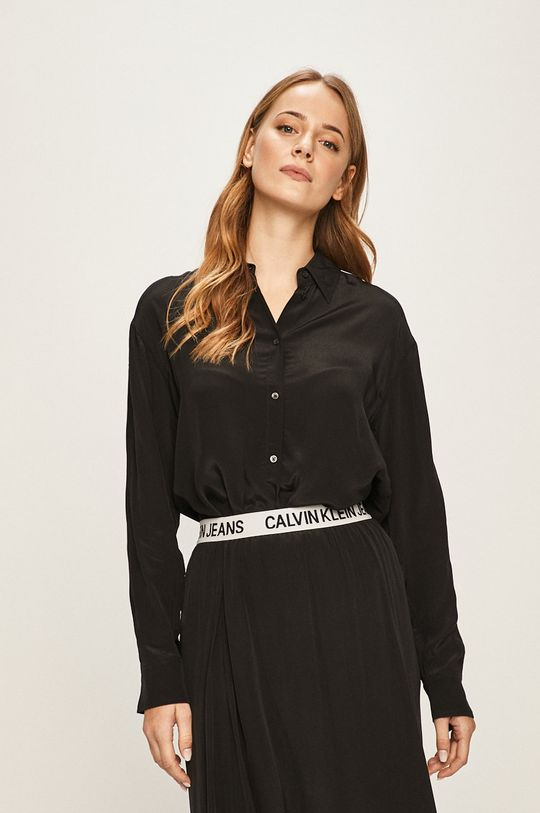 čierna Calvin Klein Jeans - Košeľa Dámsky